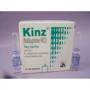 Buy Kinz Nalbuphine HCL 10mg Steroids Online